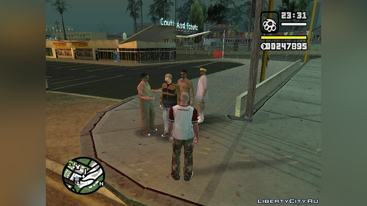 ��ольшой мод EFSA: Shadow Of Past Life для GTA San Andreas