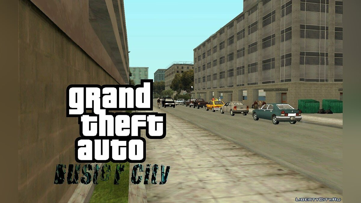 GTA Duster City alpha 2 для GTA San Andreas