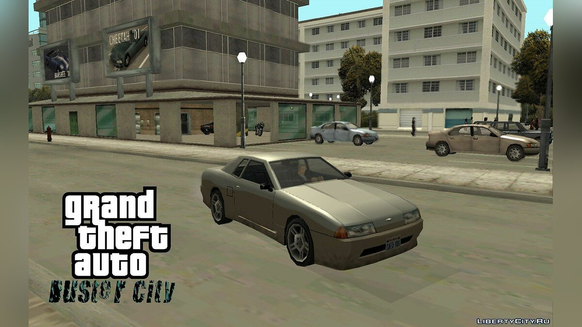 GTA Duster City alpha 2 для GTA San Andreas - скриншот #7