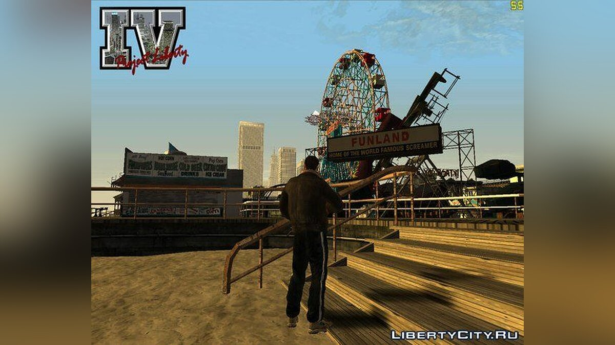 ��ольшой мод Project Liberty Beta v0.2 для GTA San Andreas
