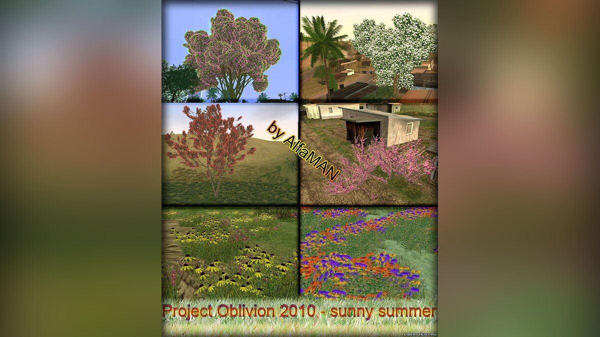 Project Oblivion - Sunny Summer для GTA San Andreas