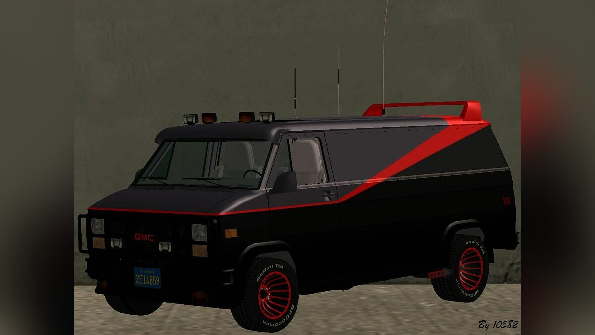 1983 GMC The A-Team Van для GTA San Andreas