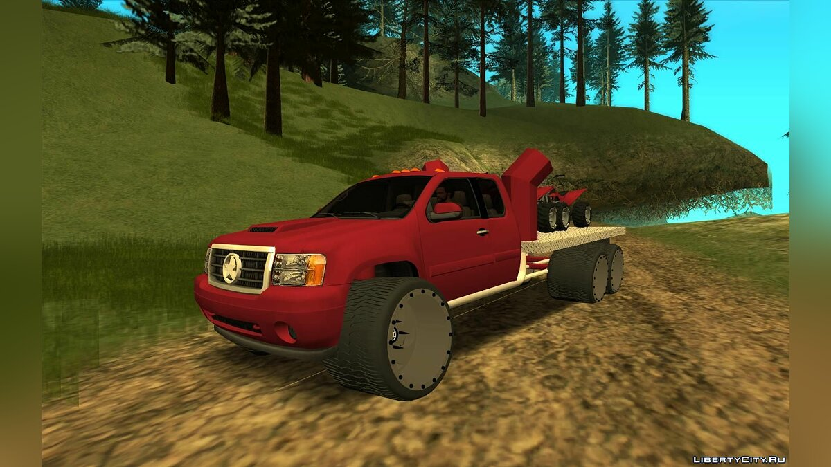 Машина GMC GMC Sierra Lifted Truck для GTA San Andreas