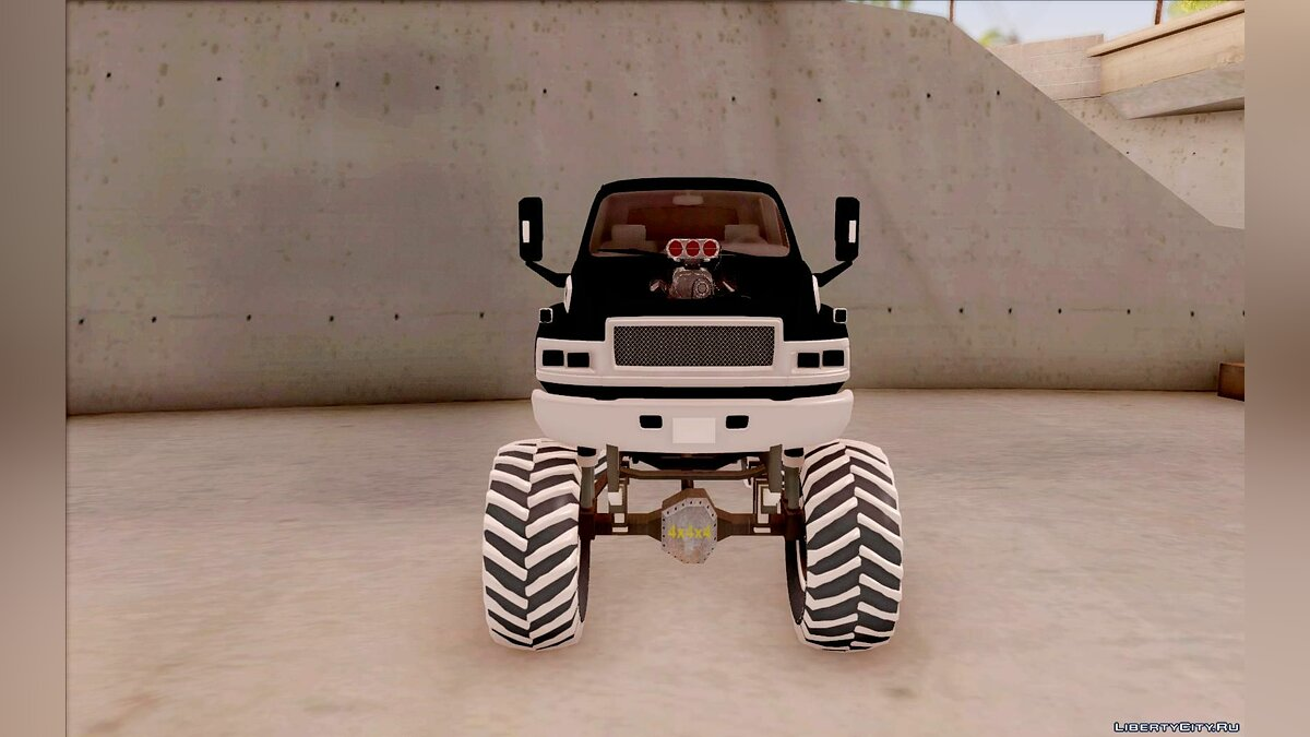Машина GMC GMC Monster Truck для GTA San Andreas