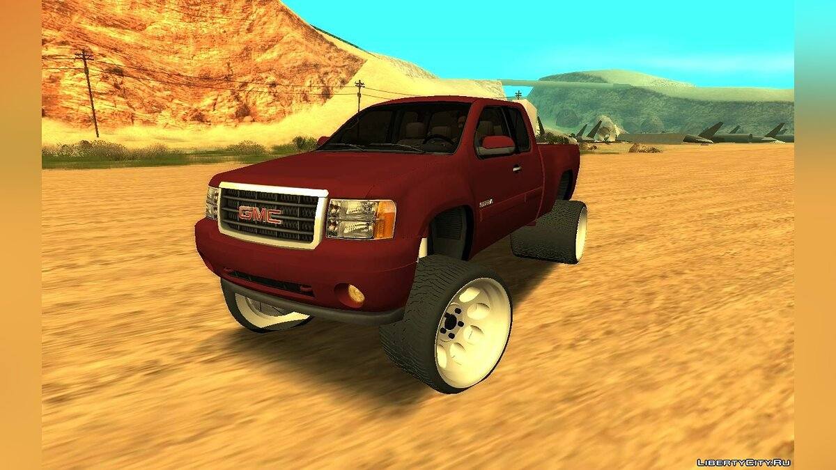 Машина GMC GMC Sierra Lifted для GTA San Andreas