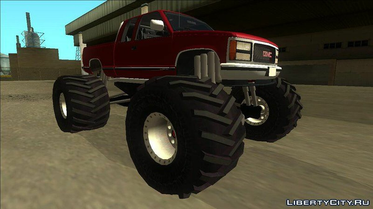 Машина GMC 1992 GMC Sierra Monster Truck для GTA San Andreas