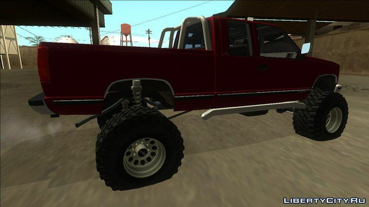 Машина GMC 1992 GMC Sierra Off Road для GTA San Andreas