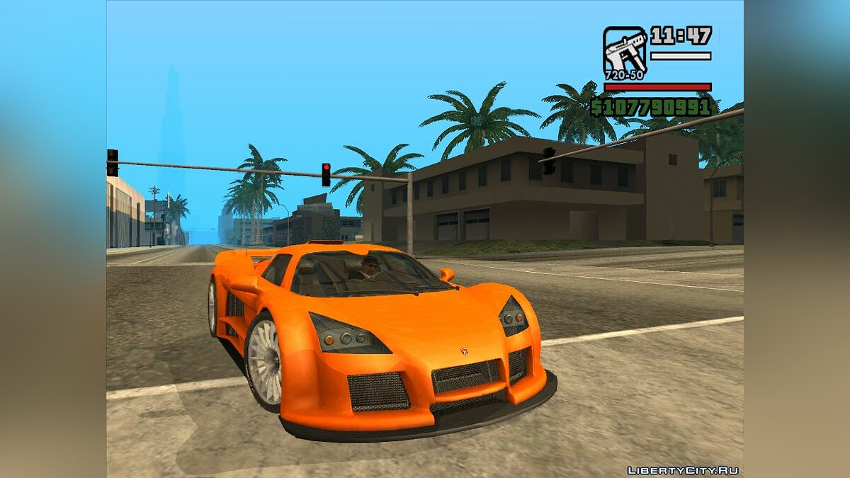 Машина Gumpert Gumpert Apollo для GTA San Andreas