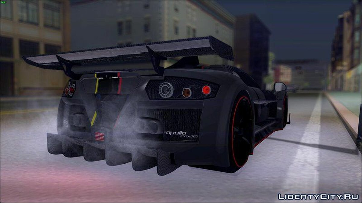 ��ашина Gumpert Gumpert Apollo Enraged для GTA San Andreas
