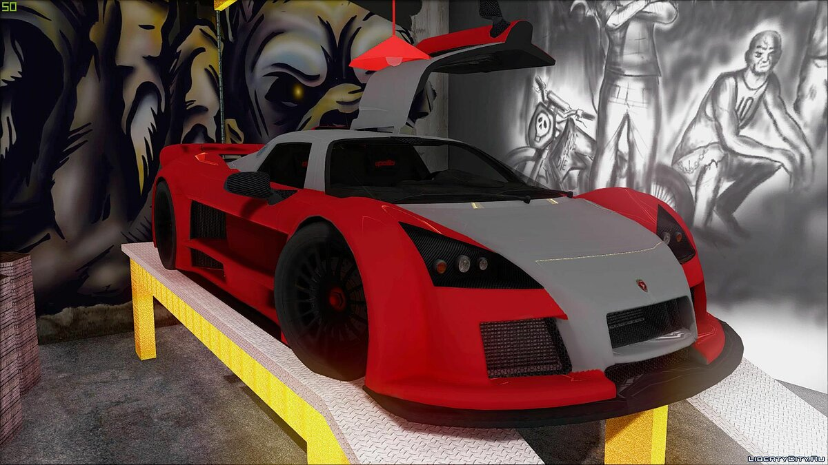 Машина Gumpert 2M-Designs Gumpert Apollo для GTA San Andreas