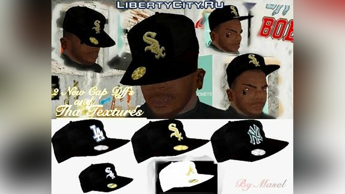 1st. New Era Cap Pack для GTA San Andreas
