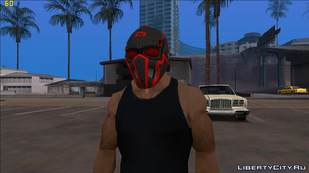 Шапка Doomsday Day Masks For Cj для GTA San Andreas