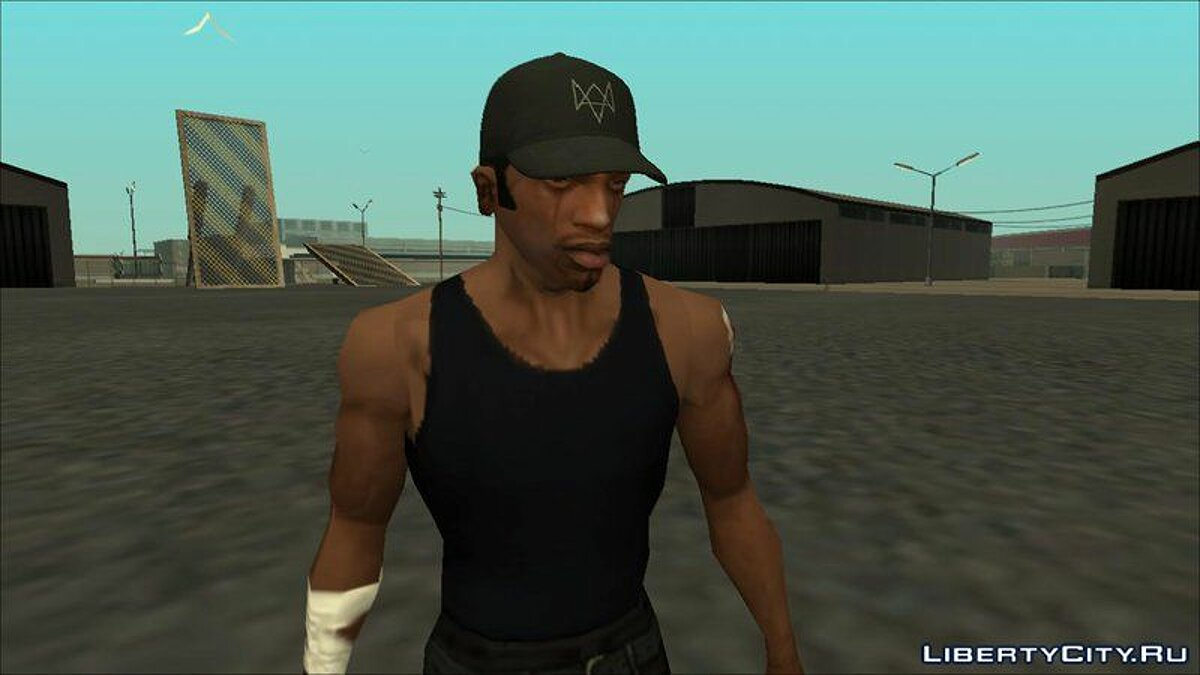 Шапка Aiden Pearce Cap For CJ для GTA San Andreas