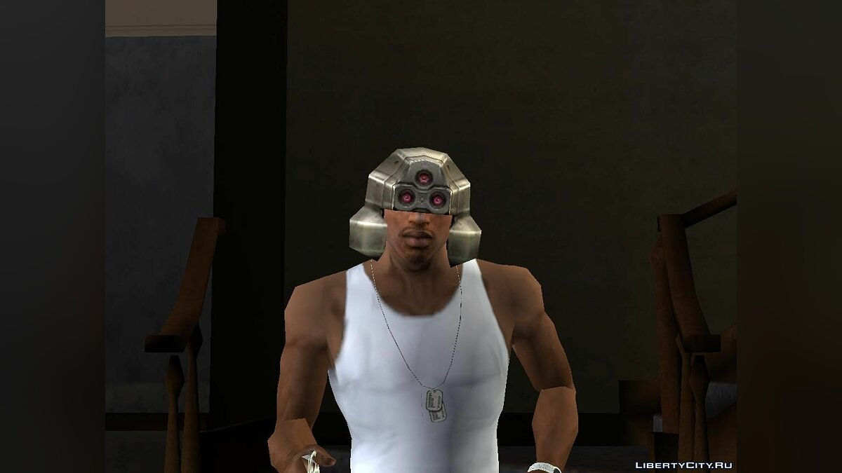 Crysis Core Helmet from Final Fantasy для GTA San Andreas