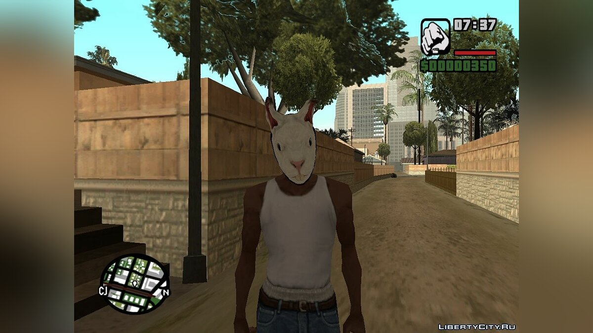 Hotline Miami Masks для GTA San Andreas - скриншот #8