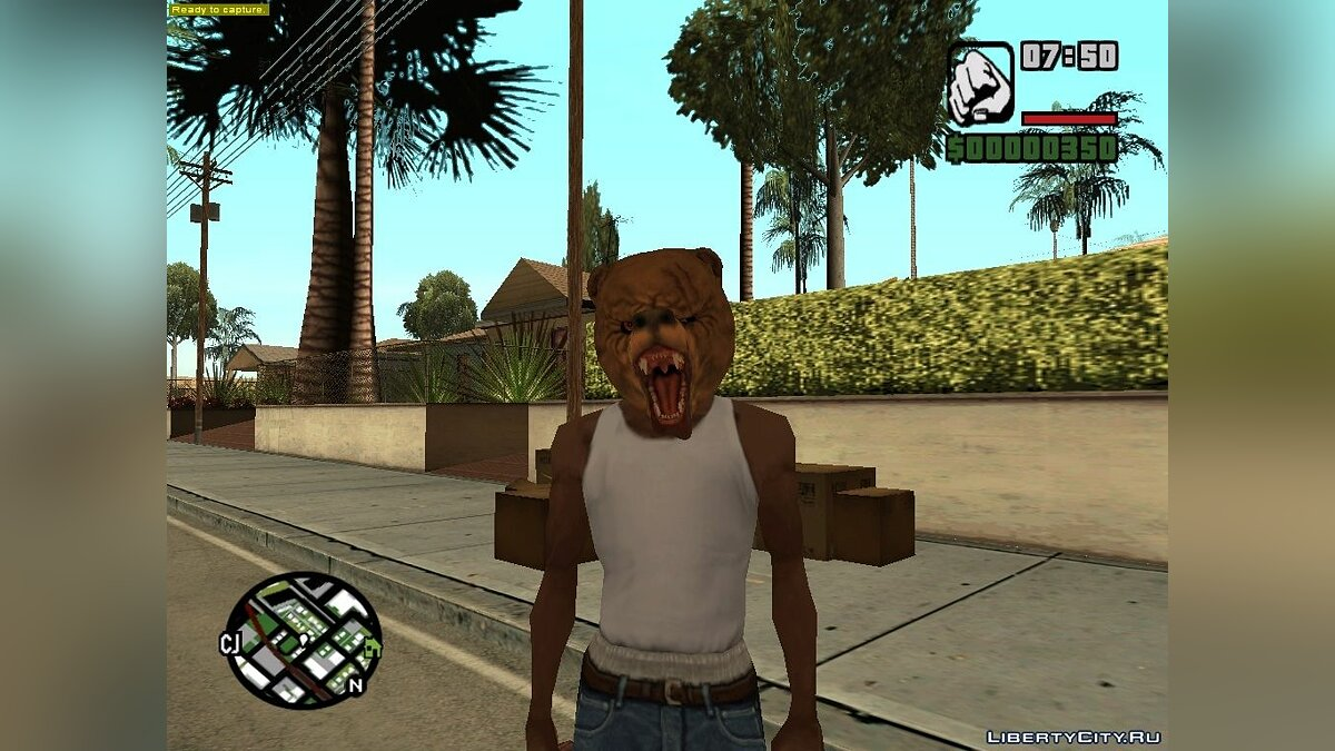 Hotline Miami Masks для GTA San Andreas - скриншот #10
