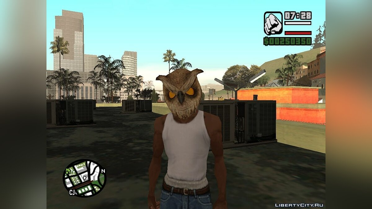 Hotline Miami Masks для GTA San Andreas - скриншот #11