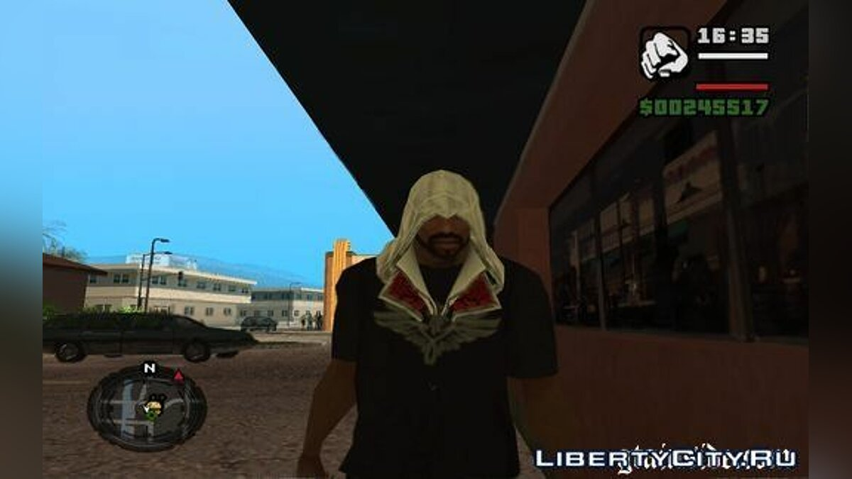 Assassin's hoods для CJ для GTA San Andreas