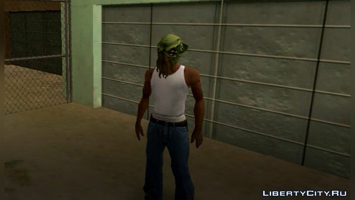 Шапка DLC Import/Export Masks for Cj для GTA San Andreas