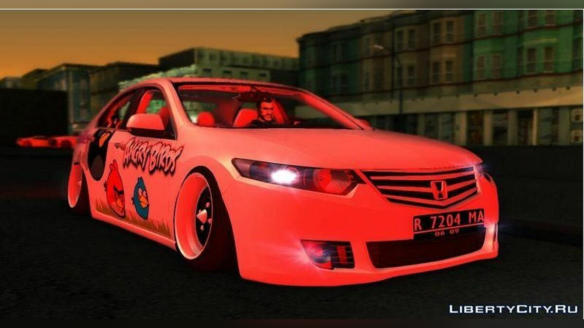 Honda Accord EU Angry Birds для GTA San Andreas