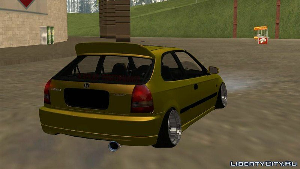 Машина Honda Honda Civic Kafkas Performance 35 BUZ 42 для GTA San Andreas