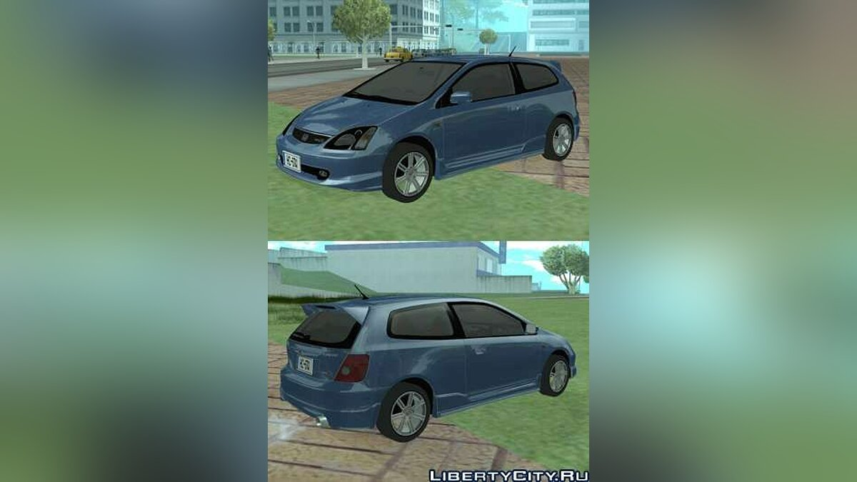 Машина Honda Honda Civic Type R для GTA San Andreas