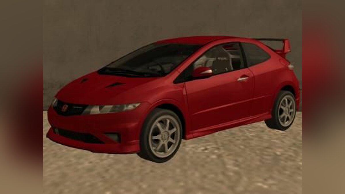 2009 Honda Civic Type R Mugen Tuning для GTA San Andreas