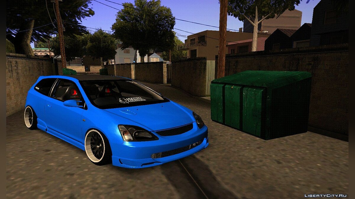 Honda Civic Type-R EP3 JDM для GTA San Andreas