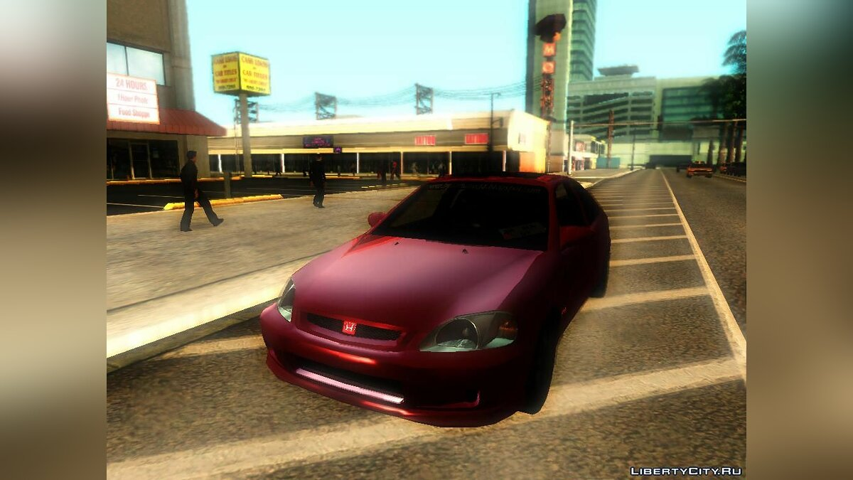 Honda Civic Tunable для GTA San Andreas