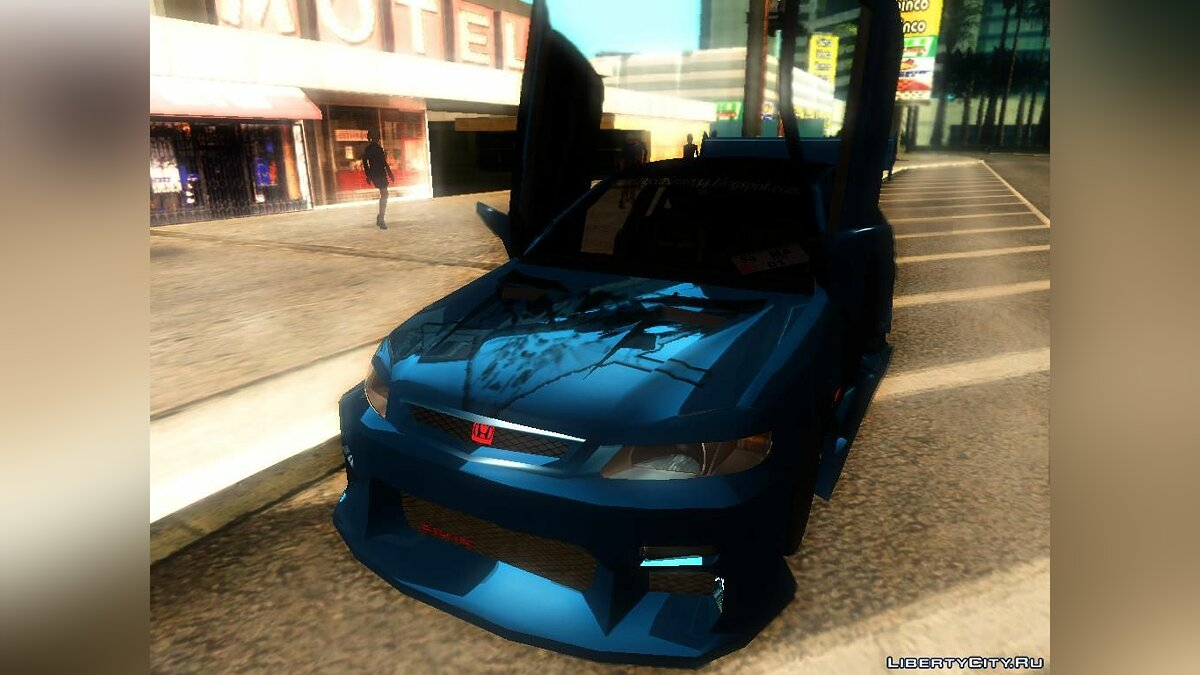 Honda Civic Tunable для GTA San Andreas - скриншот #6