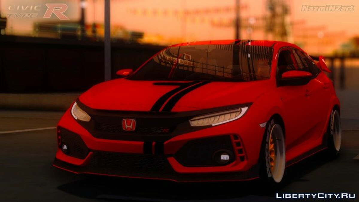 Машина Honda 2017 Honda Civic Type R v2.1 для GTA San Andreas