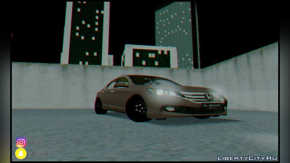 Honda Accord 2015 [ Standard ] для GTA San Andreas