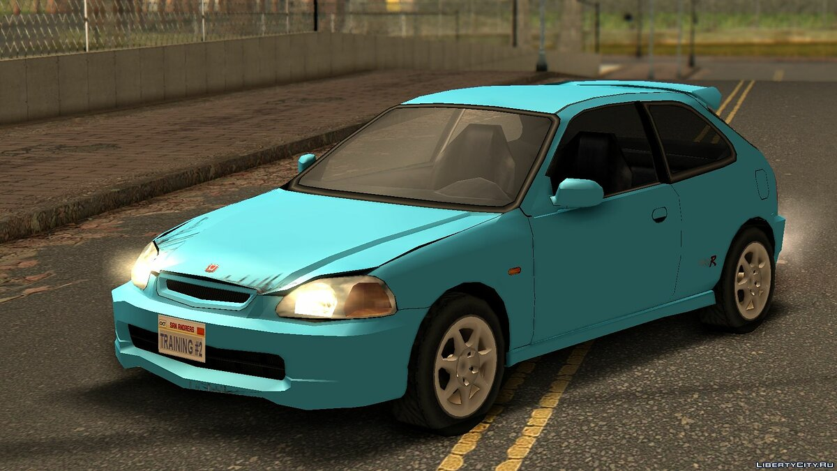 Машина Honda Honda Civic Type R Series VI '97 для GTA San Andreas