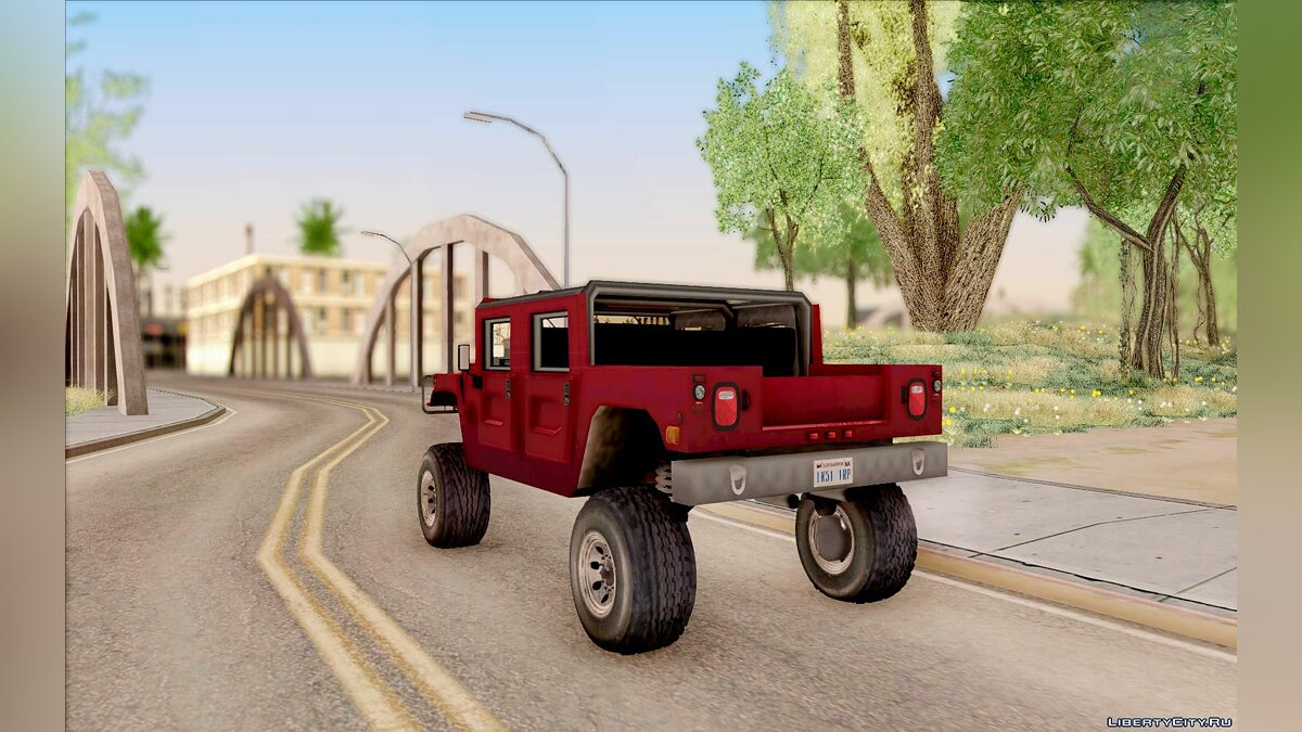 Машина Hummer Hummer Civilian Vehicle 1986 для GTA San Andreas