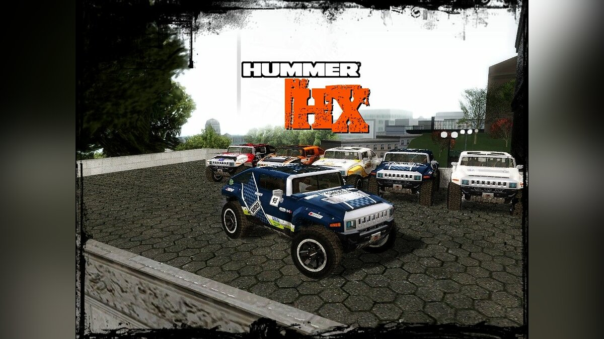 2008 Hummer HX Concept from DiRT 2 для GTA San Andreas