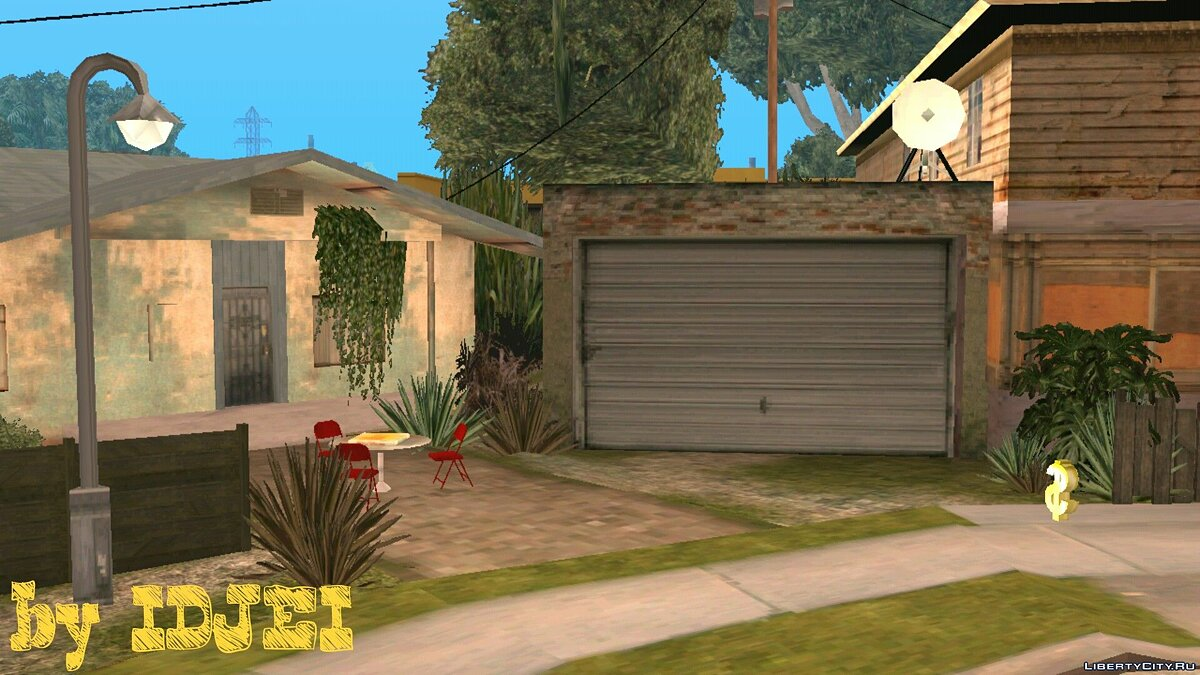 CLEO скрипт Groove Street OCW (V.1) для GTA San Andreas (iOS, Android)