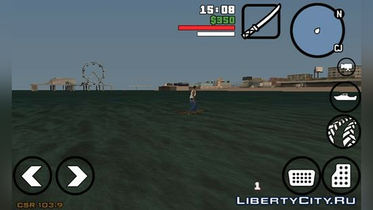 CLEO скрипт Surfing для GTA San Andreas (iOS, Android)