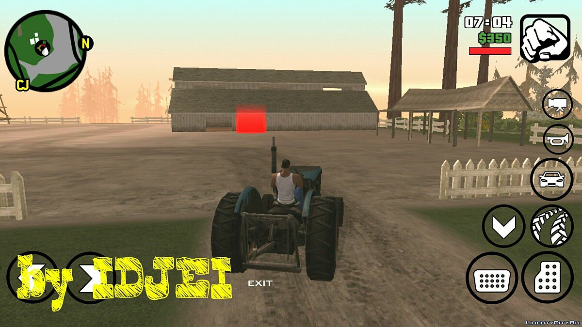 Работать в поле 1.0 (Android) для GTA San Andreas (iOS, Android) - скриншот #2
