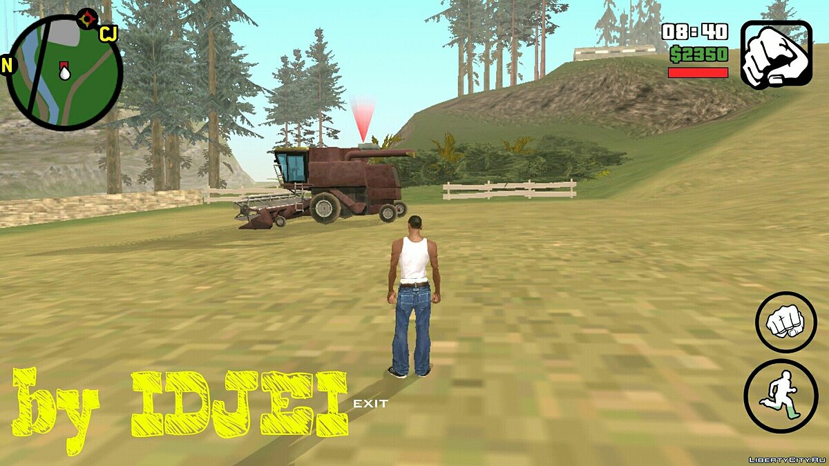 Работать в поле 1.0 (Android) для GTA San Andreas (iOS, Android) - скриншот #5
