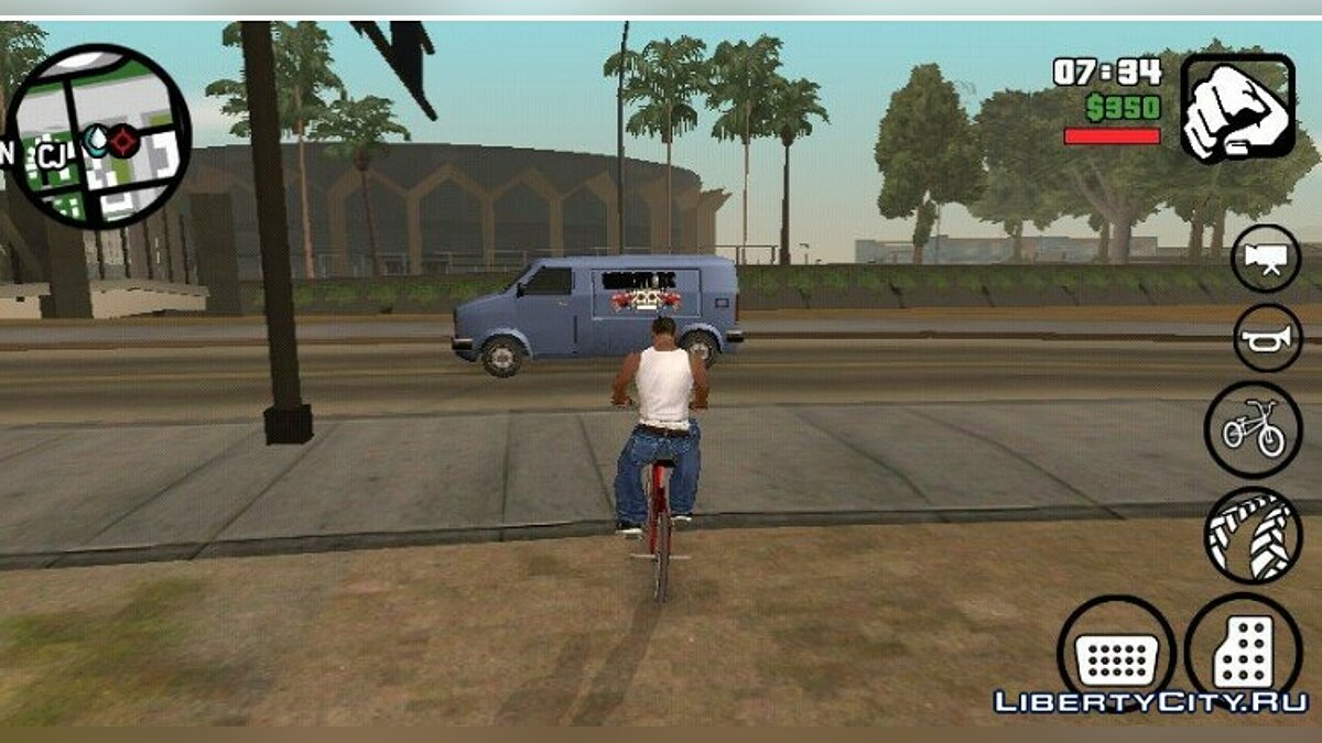 Дрон для GTA San Andreas (iOS, Android) - Картинка #2