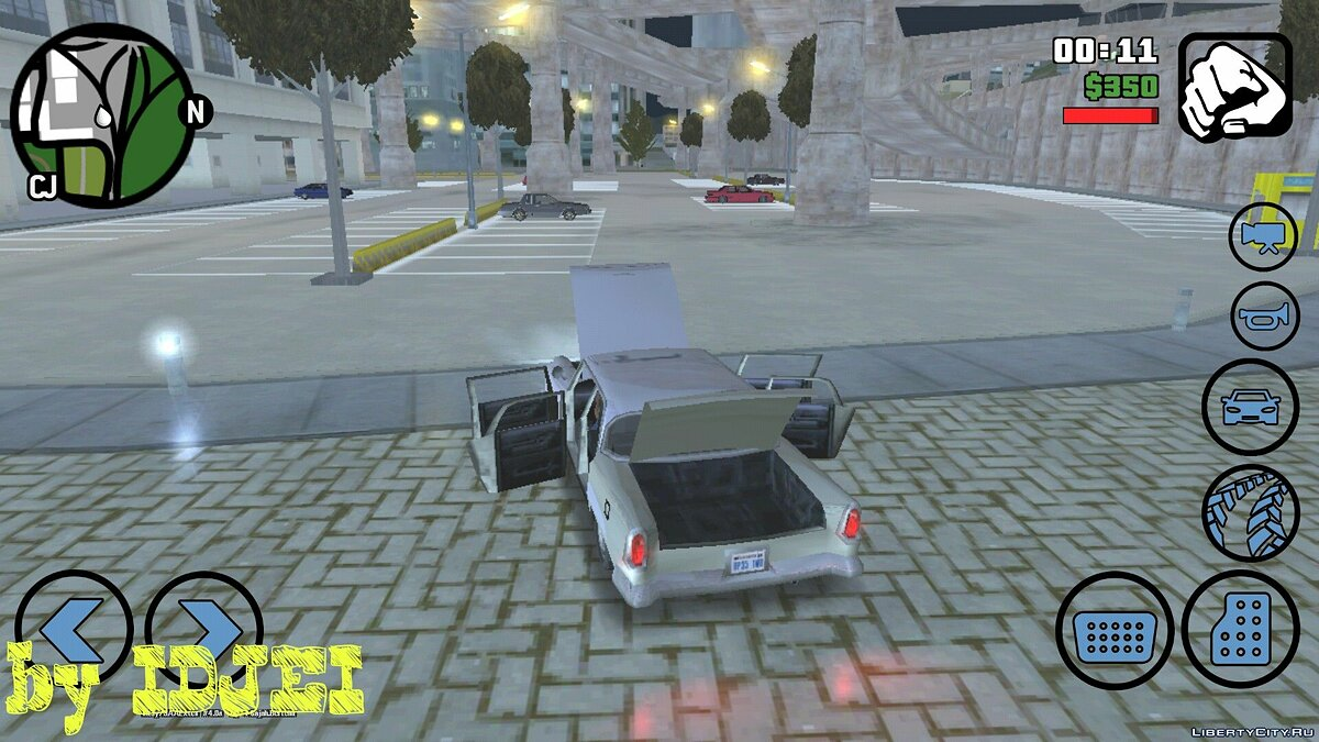 CLEO скрипт Открыть все части авто для GTA San Andreas (iOS, Android)