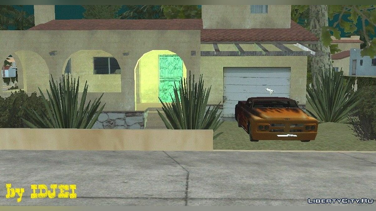 Тайный дом CJ для GTA San Andreas (iOS, Android)