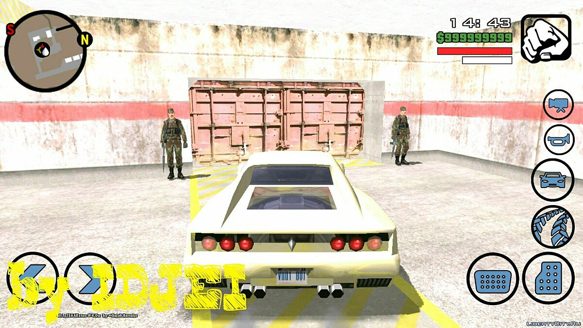 Работа в армии (Зона51) для GTA San Andreas (iOS, Android) - скриншот #3