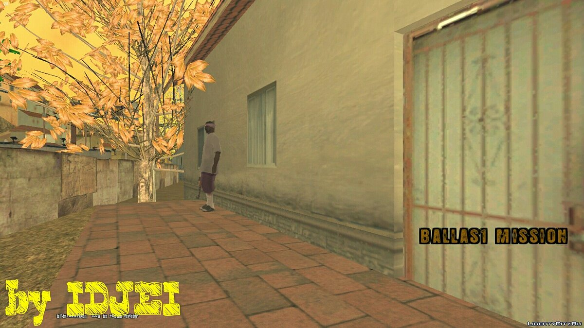 BALLAS1 MISSION для GTA San Andreas (iOS, Android)
