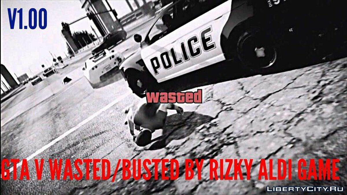 GTA V Wasted/Busted Screen For Android для GTA San Andreas (iOS, Android)