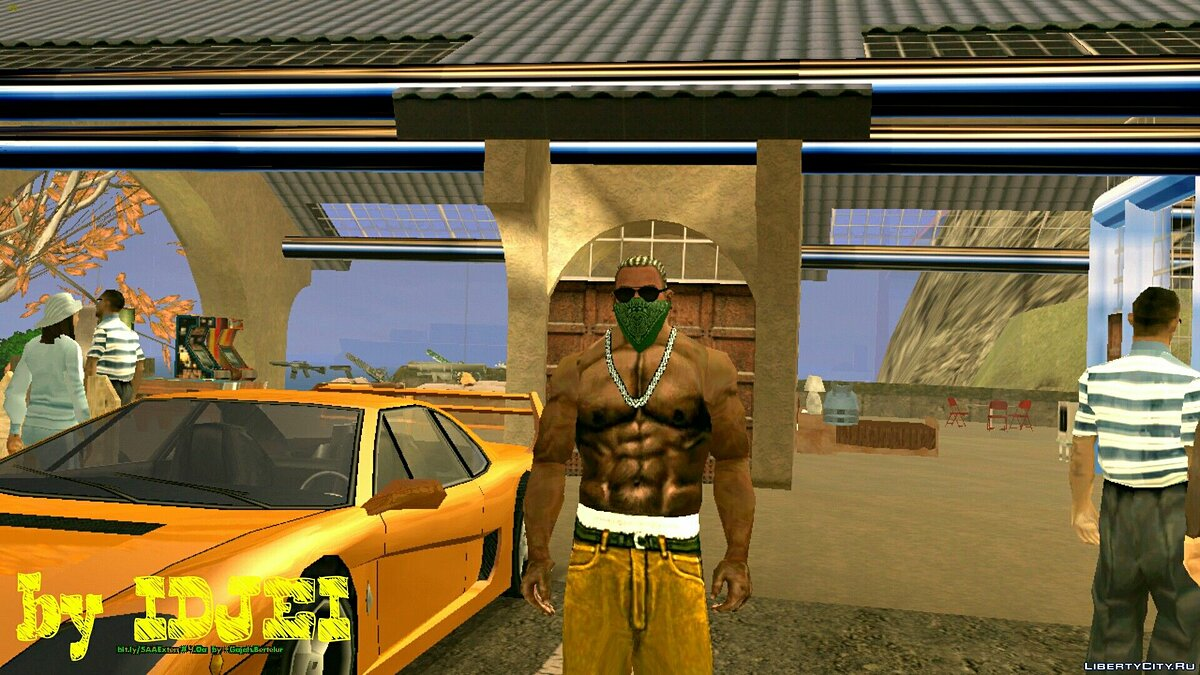 Green Rag all shades для GTA San Andreas (iOS, Android)