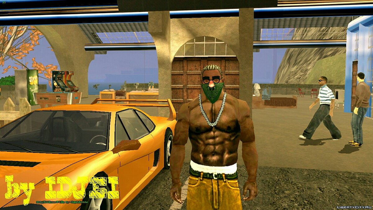 Green Rag all shades для GTA San Andreas (iOS, Android) - скриншот #2
