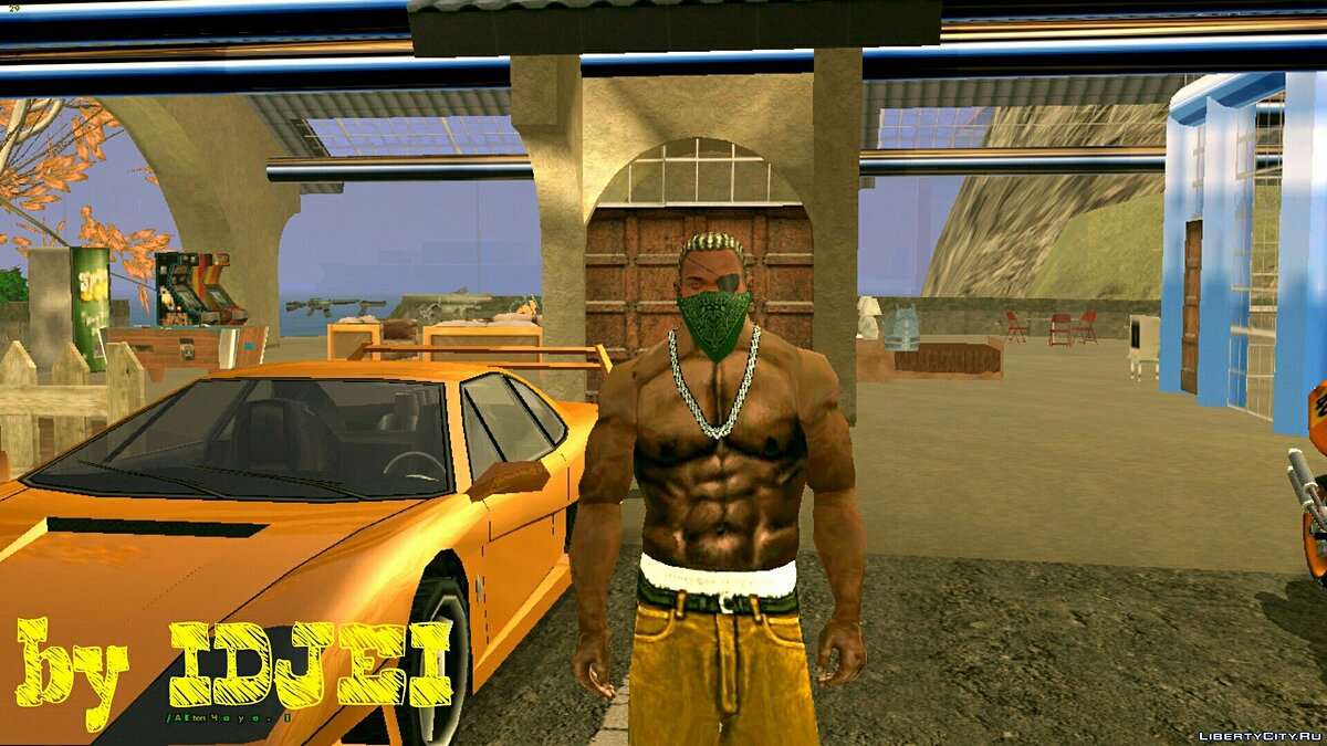 Green Rag all shades для GTA San Andreas (iOS, Android) - скриншот #4