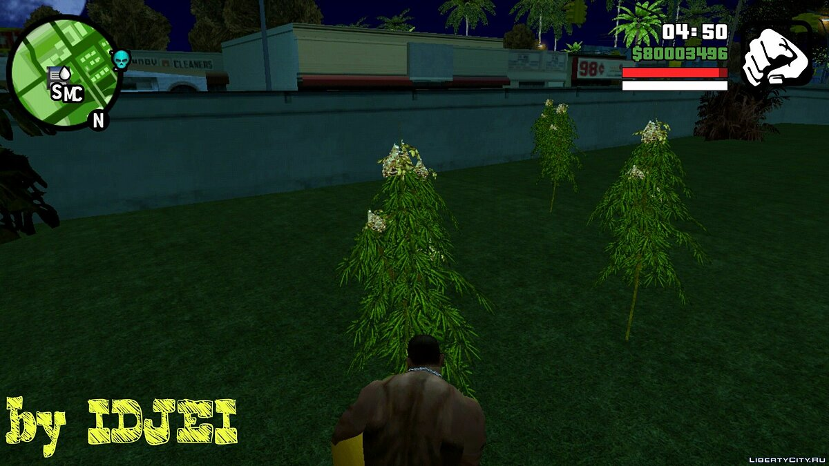 CLEO скрипт Ganja Ryder (V.1) для GTA San Andreas (iOS, Android)