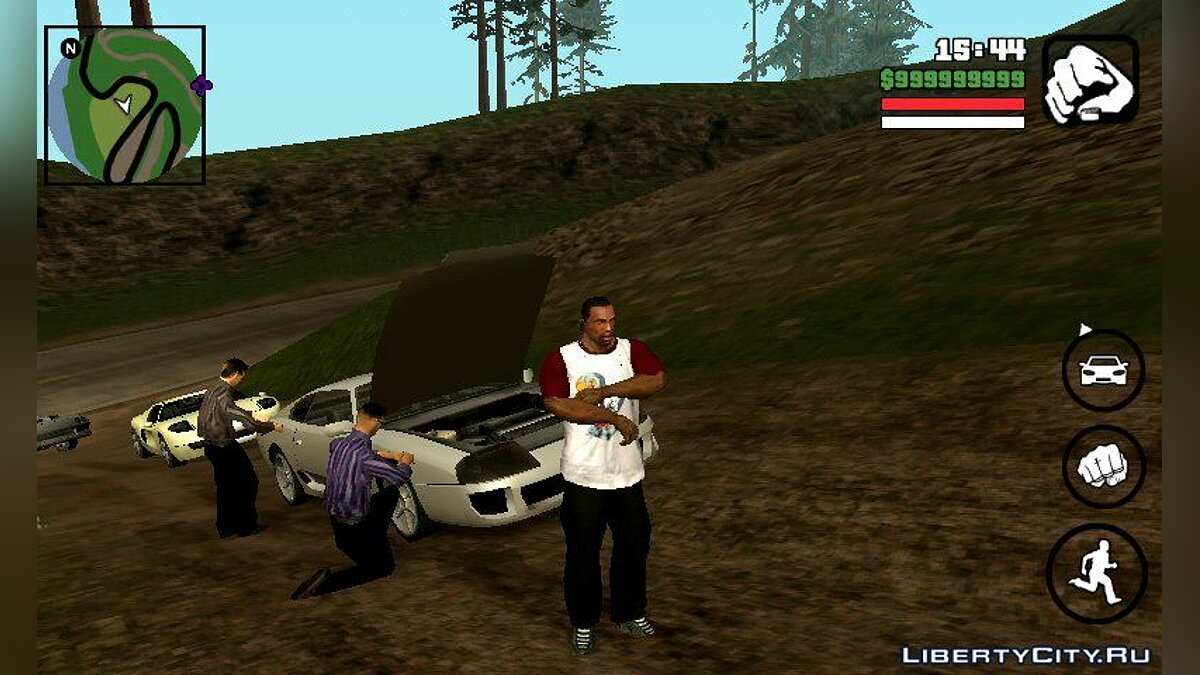 CLEO скрипт Поломки машин для GTA San Andreas (iOS, Android)